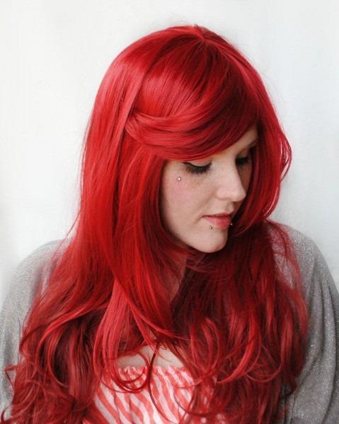 Valentine Sale Ariel Wig   Mermaid Wig Cosplay By Missvioletlace