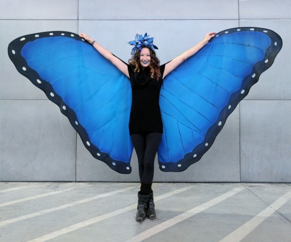 Diy Butterfly Wings  18 Steps (with Pictures)