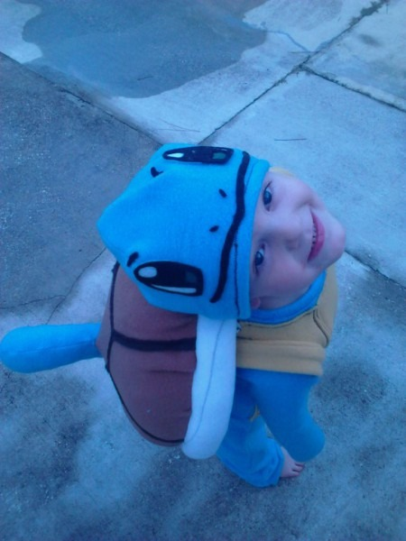 Squirtle Costume  7 Steps