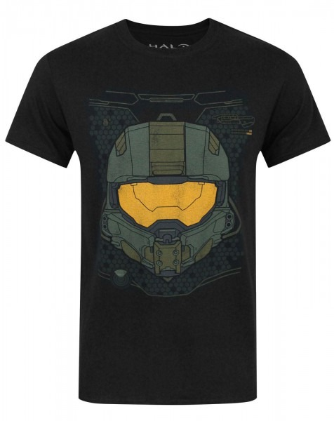 Official Halo 5 Master Chief Hud Helmet Men's T