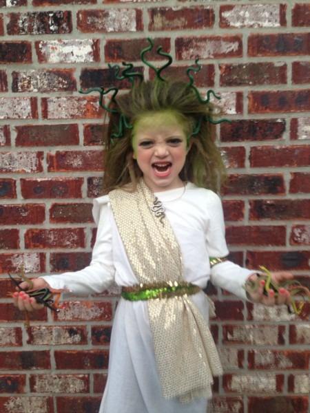 Medusa Halloween Kids Costume