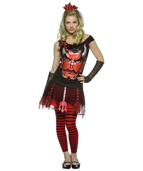 Devil Facesteen Costume