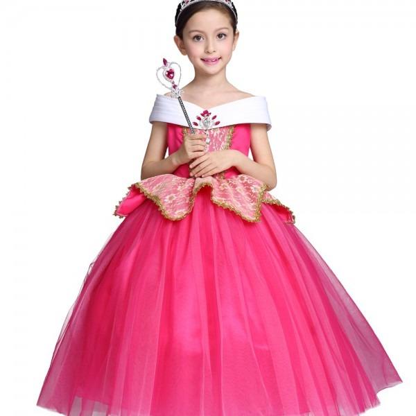 Aliexpress Com   Buy Fancy Halloween Costume Kids Aurora Role Play