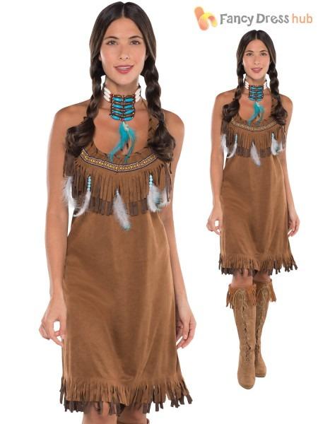 Pocahontas Kostüm  Women 39 S Indian Princess Halloween Costume