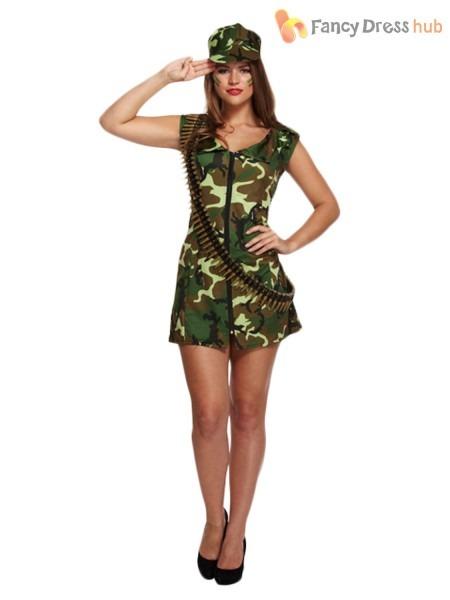 Womens Camo Costume & Gi Dame Costume Sc 1 St Army Navy Shop