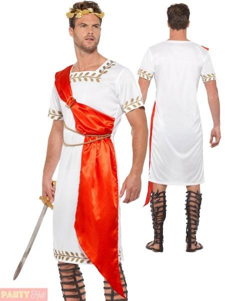 Ladies Mens Toga Ancient Roman Costume Greek Grecian God Goddess