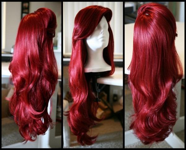 Little Mermaid Costume Wig & Ariel Wig