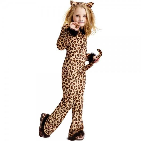 Pretty Leopard Child Costume