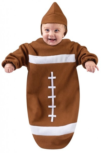 Football Infant Bunting Costume