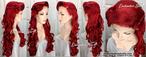 For Sale  Hybrid Ariel Premium Lace Front Wig! By Enchantedsea On