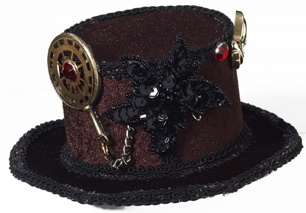 Forum Novelties Women's Steampunk Victorian Mini Top Hat Costume