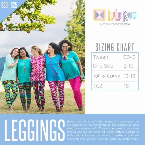 Fresh 15 Sample Lularoe Tc2 Size Chart  4051411000011 – Lularoe