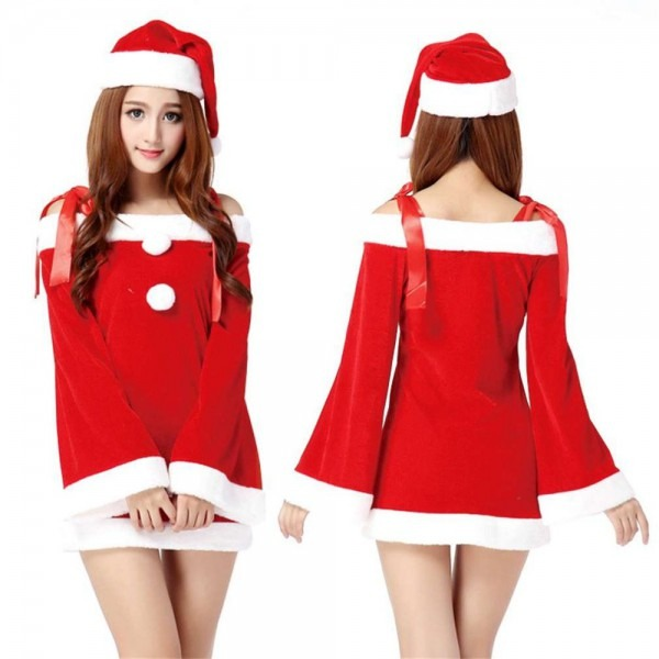 Funny Design Creative Lovely Christmas Costume Sexy Women Ladies
