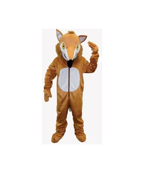 Adult Furry Fox Mascot Halloween Costume