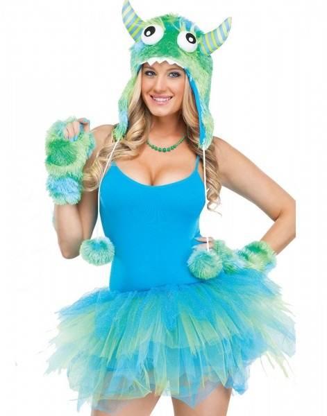 Sully Monsters Inc Adult Costume