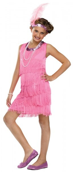 1920s Flapper Girls Fancy Dress Charleston Gatsby 20s Kids