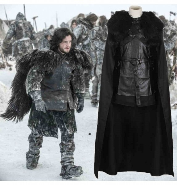 Buy Game Of Thrones Cosplay Costumes, Jon Snow Costumes, Daenerys