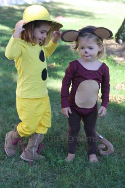 Diy Halloween Costumes  Curious George & The Man With The Yellow