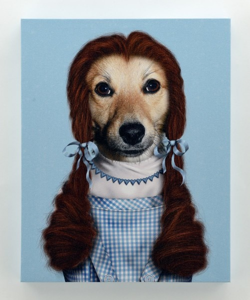 Dorothy Dog Wizard Of Oz Art Canvas