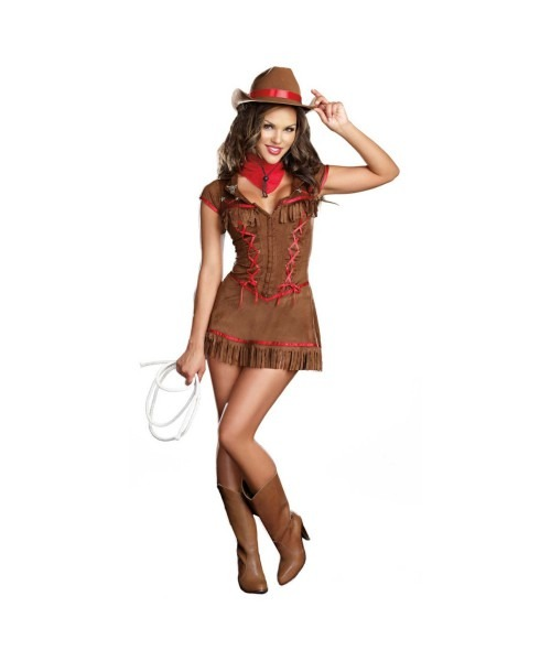 Cowgirl Giddy Up Adult Costume