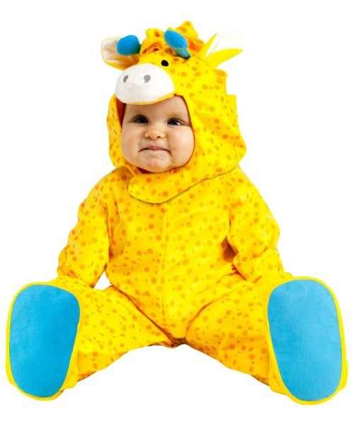 Lovable Giraffe Infant Toddler Unisex Costume
