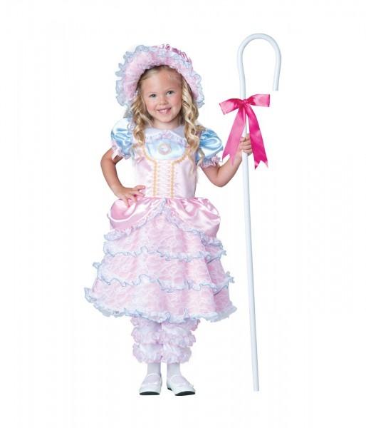 Little Bo Peep Toddler Shepherd Girls Costume