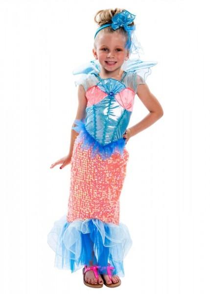 Enchanting Mermaid Girls Costume