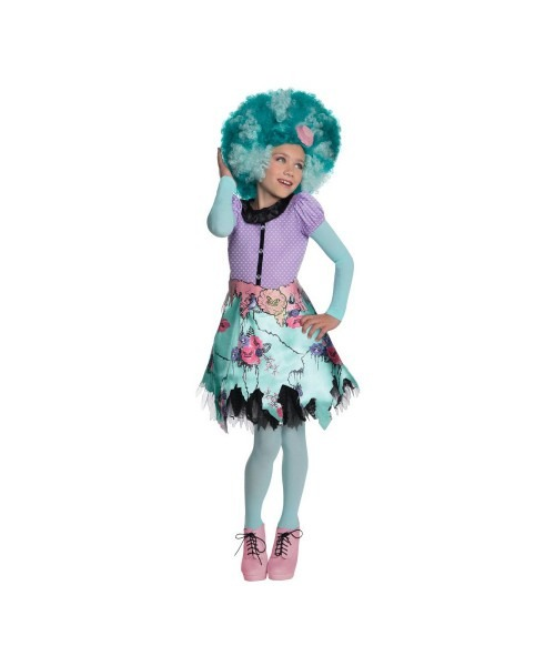 Toddler Monster High Costumes & Draculaura (with Wig)