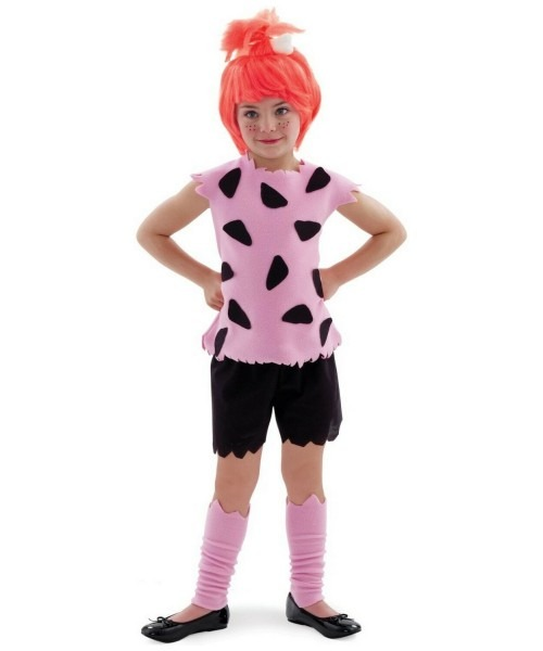 Kids Pebbles Flintstone Costume