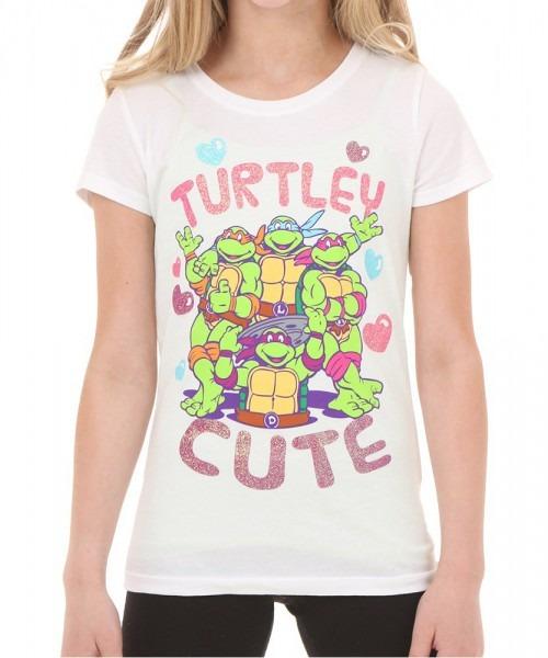 Girls Teenage Mutant Ninja Turtles Turtley Cute T