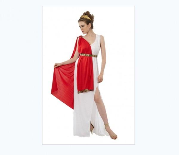 Women's Empress Of Rome Helena Greek Goddess Costume Queen Adult