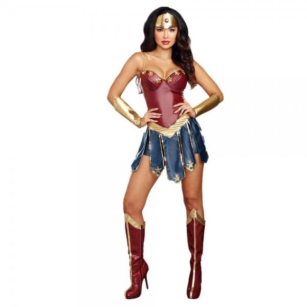 Halloween 2017 Wonder Woman Costume Gal Gadot Fantasia Hero