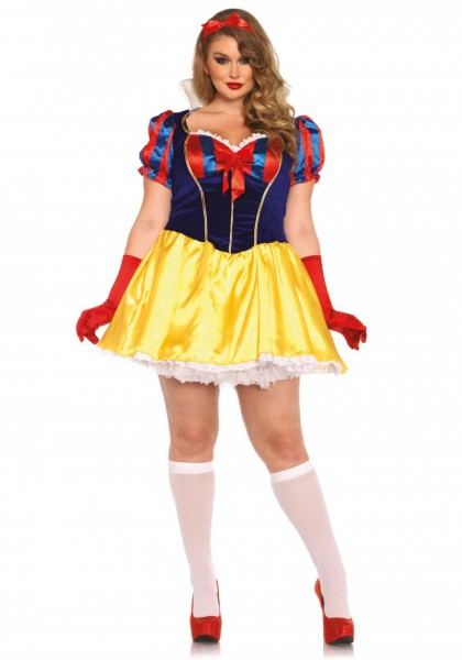 Halloween Plus Size Poison Apple Snow White Costume Costumes For