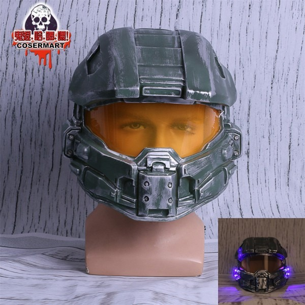 Halo 4 Helmet Prop Replica Cosplay Costume Full Head Mask Pvc