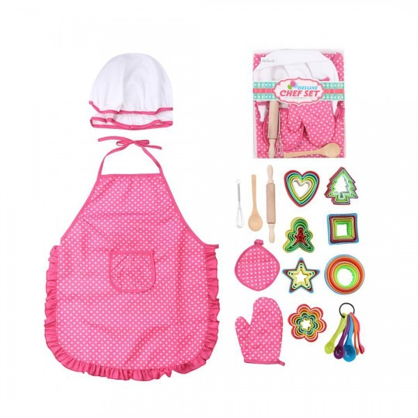 High Quality 2019 Chef Role Play Costume Dress Up Set With