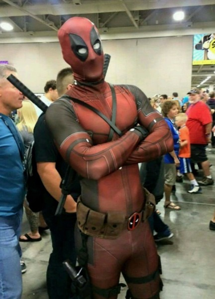 High Quality Deadpool Cosplay Costume Halloween Costume For Men