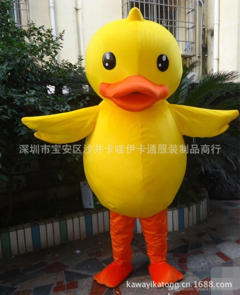High Quality Duck Mascot Costume Epe Fancy Dress Outfit Adult