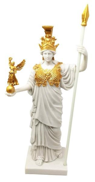 Buy Virgin Patroness Of Athens Athena Greek Goddess Figurine