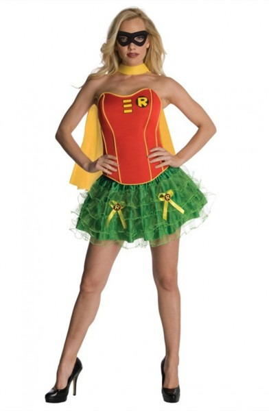 Adult Ladies Batman And Robin Costume Original Superhero Costume