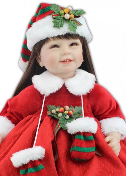 Hot Sale 22 Inch 55cm Silicone Soft Reborn Baby Doll Handmade Baby