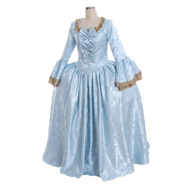 Cosplaydiy 18th Century Marie Antoinette Colonial Rococo Ball Gown
