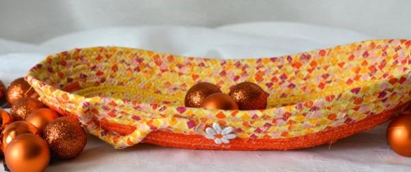Halloween Desk Accessory, Handmade Candy Dish, Decorative Fall