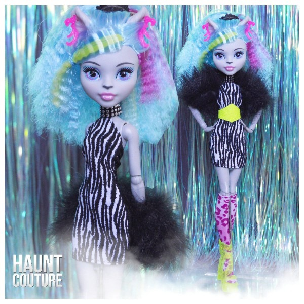 Monster Doll Haunt Couture She Wolf High Fashion