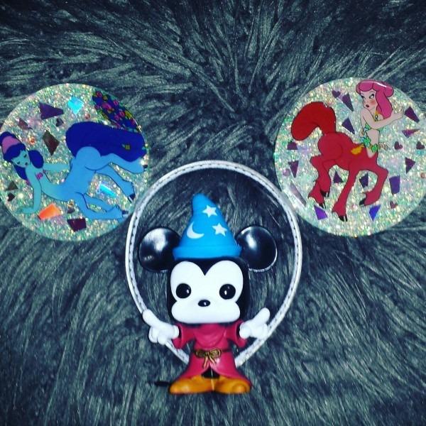 Centaurettes Fantasia Holographic & Iridescent Mickey Ears