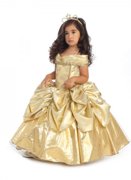 Belle Costume For Toddler & Girls Belle Sparkle Deluxe Costume Sc