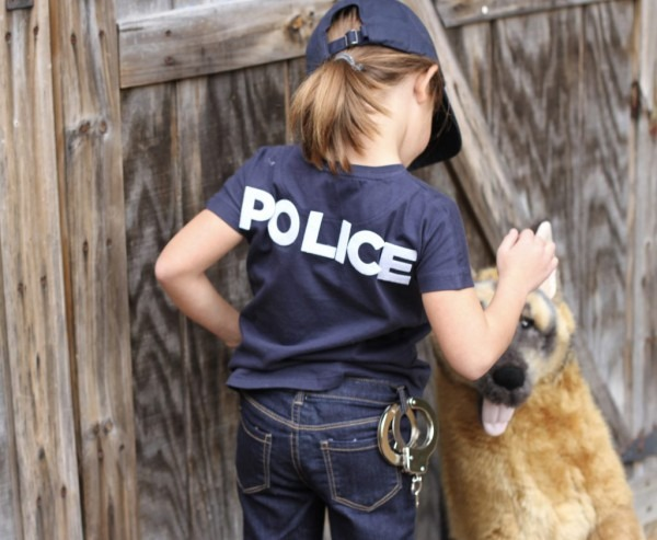 K9 Unit Police Officer  Diy Halloween Costumes For Kids