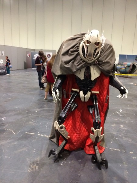 Amazing General Grievous Cosplay    Pics