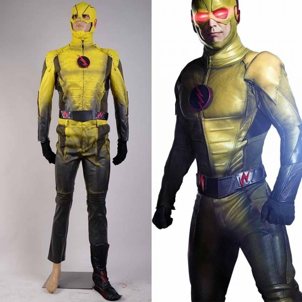 In Stock )the Reverse Flash Professor Zoom Eobard Thawne Cosplay