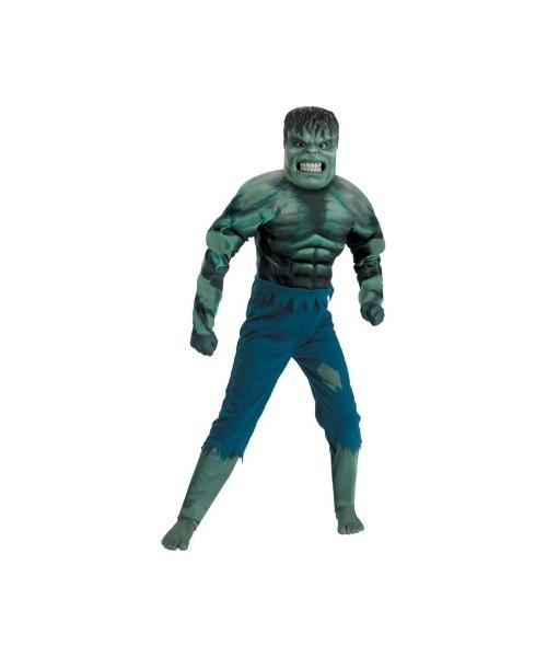 Hulk Incredible Muscle Kids Costume