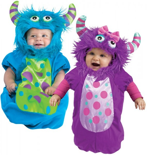 Infant Monster Bunting Costume